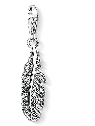 Thomas Sabo Thomas Sabo Charm pendant feather silver-coloured 1559-637-21