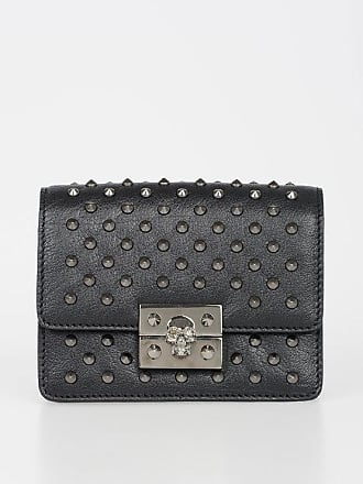 Alexander McQueen Mini Leather Studded Bag size Unica
