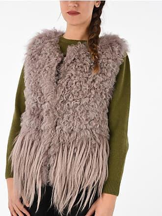 Drome Sleeveless Real Fur Jacket Größe L