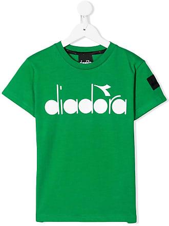 Diadora Camiseta com estampa de logo - Verde