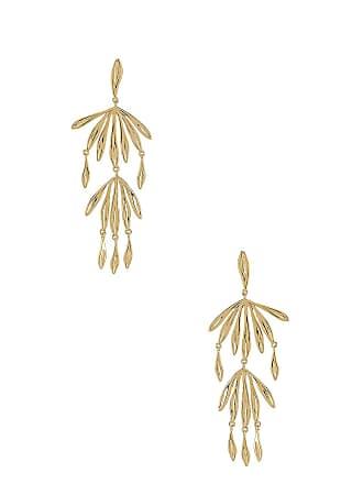 Gorjana Petal Drop Earring in Metallic Gold