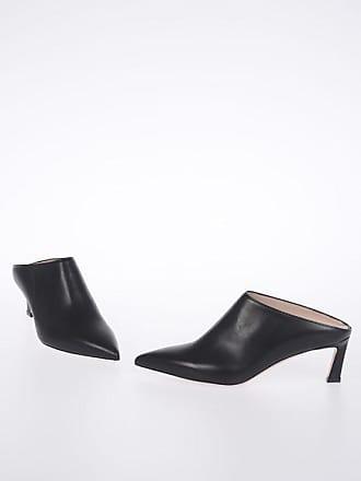 Stuart Weitzman 5.5 cm Leather MIRA Mules size 35