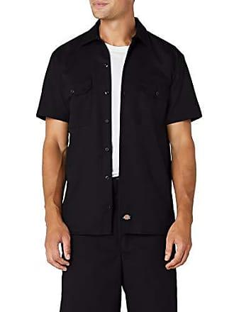 Overhemd Zwart Korte Mouw.Overhemden Met Korte Mouw Van Dickies Nu Tot 32 Stylight