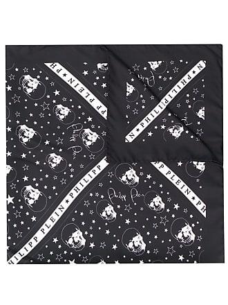 Philipp Plein square scarf - Preto