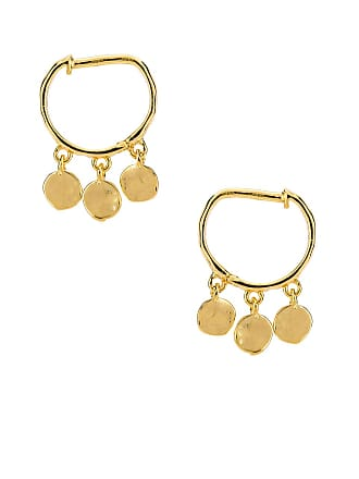 Gorjana Chloe Mini Huggie Earrings in Metallic Gold