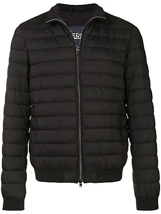 Herno quilted bomber jacket - Black