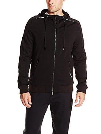 2(x)ist Mens Full-Zip Hoodie, Black, Large