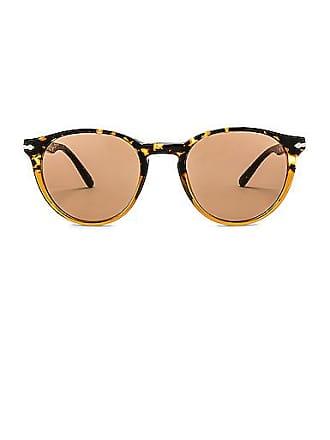 f999e0a858c0 Mens PO3184S Round Acetate Sunglasses. Delivery: Delivery costs apply.  Persol PO3152S in Brown