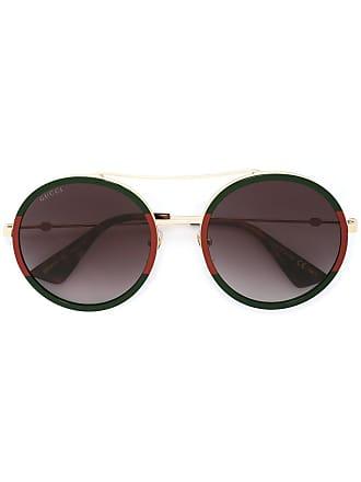 Gucci round shaped sunglasses - Green