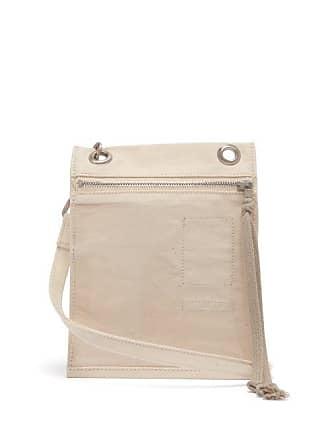Rick Owens Rick Owens Drkshdw - Plastic Pocket Canvas Cross Body Bag - Mens - Beige