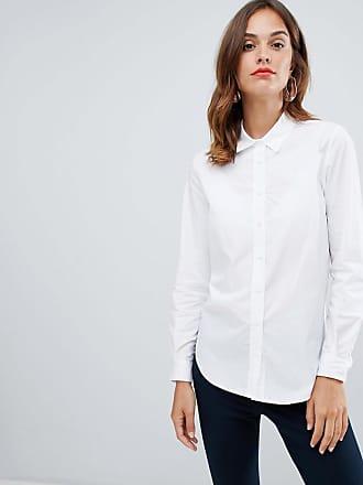 French Connection Southside - Avslappnad skjorta - Vitt linnetyg 4881c4032fe36