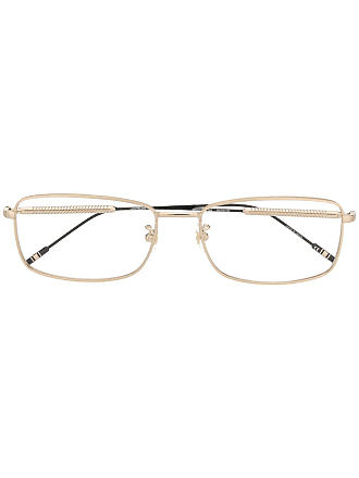 Montblanc square-shaped glasses - Gold