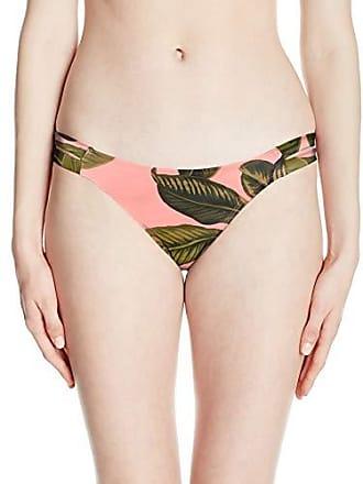 ba6c6961d5 Eidon Womens Low Rider Mid Rise Bikini Bottom Swimsuit, Blush Palawan Palm  Print, X