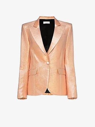 Faith Connexion single-breasted metallic blazer