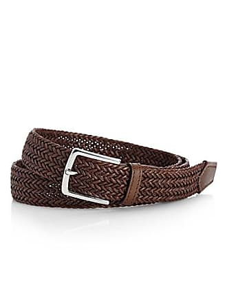 Le 31 Braided leather belt