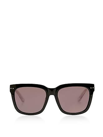 Bottega Veneta Square Frame Sunglasses Black