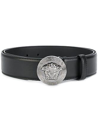 Versace Vanitas buckle belt - Black