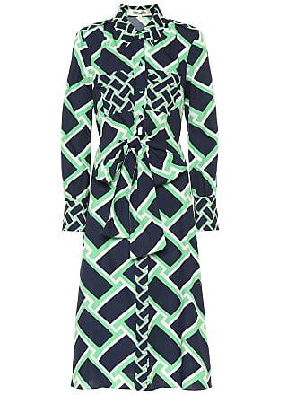 Diane Von Fürstenberg Printed cotton midi dress