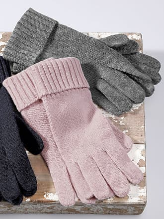 Peter Hahn Gloves in 100% cashmere Peter Hahn Cashmere pale pink