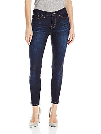 Lee Womens Modern Series Midrise Fit Anna Skinny Ankle Jean, Rinse, 16/Long