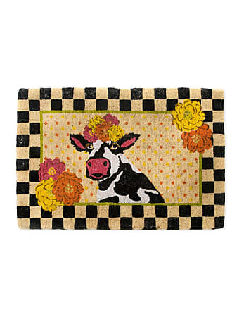 MacKenzie-Childs Frida Cowlo Entrance Mat