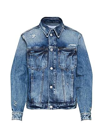 061330d151c6 Calvin Klein Jeans Jacke FOUNDATION TRUCKER OMEGA blue denim