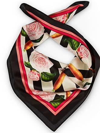 Texas and the Artichoke Foulard de créateur en soie Carottes   Roses 854c013f054