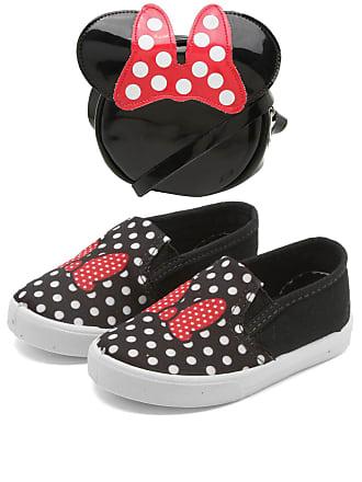 Disney Slip On Disney Minnie Preto