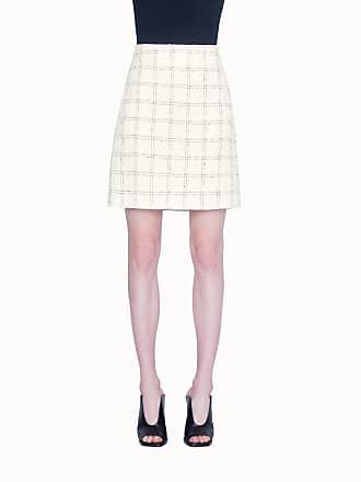 Akris Skirt in Superlight Check Tweed