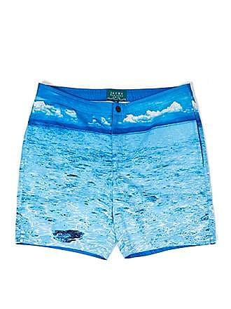 21 Men JACHS NY Sea & Sky Swim Trunks at Forever 21 Blue