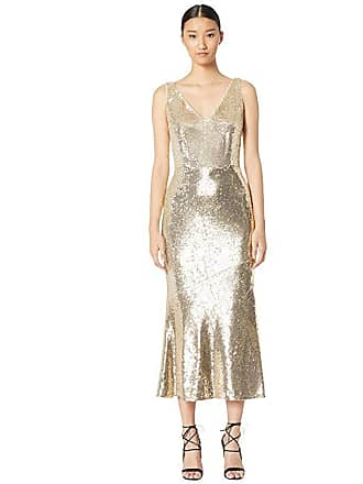 Rachel Zoe Lola Gown (Gold) Womens Dress