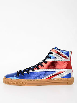 fe3d4eacf02 Gucci Leather High Sneakers size 5