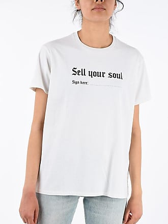 R13 Crew-Neck SELL YOUR SOUL T-shirt Größe Xs