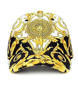 Versace Printed cotton cap