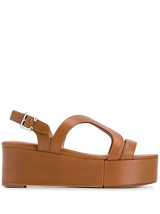 Robert Clergerie platform sandals - Brown