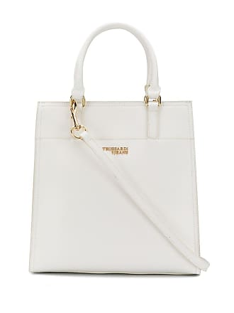 Trussardi medium tote bag - White