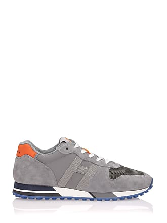 e7074f94418 Hogan H383 Retro Running Sneakers Grey
