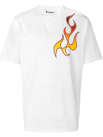 Études Studio Unity Flaming T-shirt - White