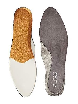 Naot FB26 - Prima Bella Replacement Footbed (Silver) Womens Insoles Accessories Shoes