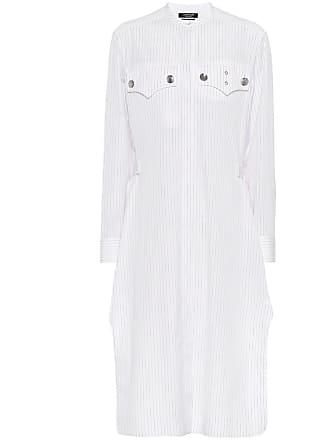 CALVIN KLEIN 205W39NYC Striped cotton shirt dress