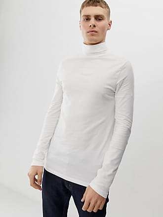 c59f17c5 Asos organic muscle fit roll neck long sleeve t-shirt with stretch