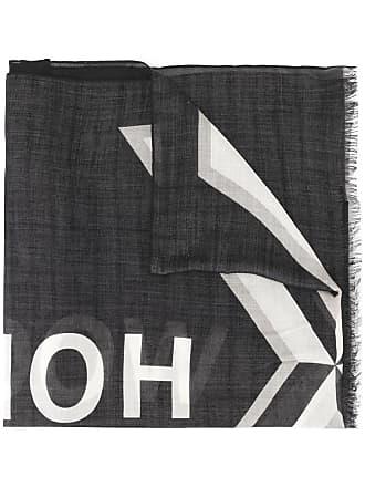 Undercover Echarpe estampada com logo - Preto