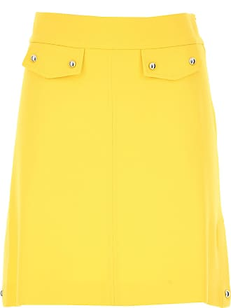 8323c1c56a Pinko Skirt for Women On Sale, Yellow, Viscose, 2017, 10 12 24