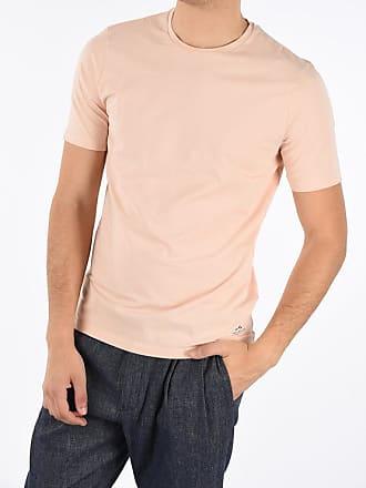 Corneliani CC COLLECTION Stretchy Cotton Crewneck T-shirt size 50