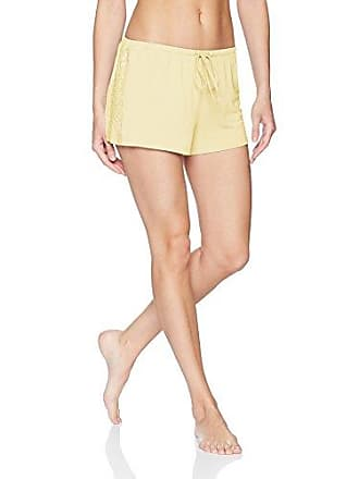 PJ Salvage Womens Lily Lesuiree Shorts, Pale Yellow, S