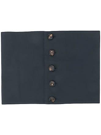 Plan C Faixa de cintura com botões - Azul