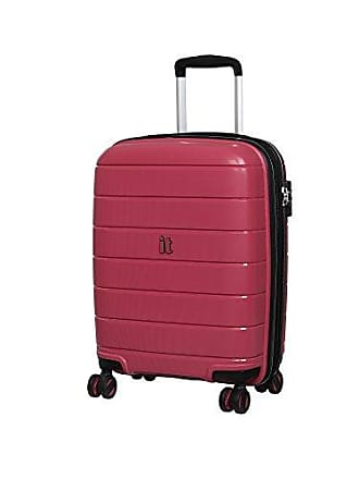 IT Luggage IT Luggage 21.3 Asteroid 8-Wheel Hardside Expandable Carry-on, Rose Red