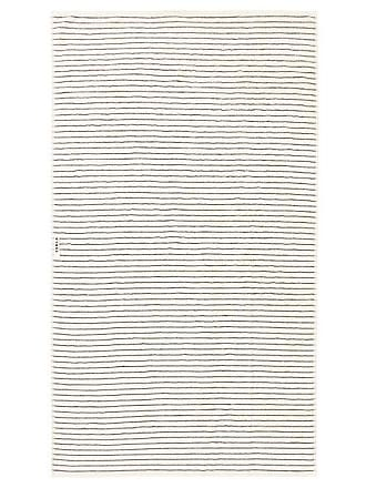 Tekla Striped Organic-cotton Bath Sheet - White Stripe