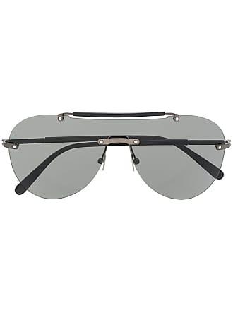 Brioni Óculos de sol sem armação - Preto