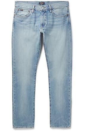 Polo Ralph Lauren Slim-fit Stretch-denim Jeans - Blue
